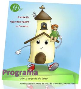 FILLS DE L'ESGLÉSIA - Trobada 1-2 juny